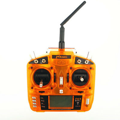 MKron i6S 2.4G 6CH DSM2 Compatible Transmitter With 3 Way Switch
