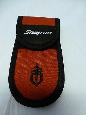 "Snap-on Multi Tool Knife Sheath 6 1/4"" x 3 1/8""  Nylon with Belt Strap New"
