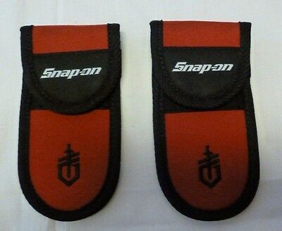 "(2)Snap-on Multi Tool Sheath 6 1/4"" x 3 1/8""  Nylon with Belt Strap New"