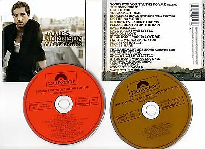 """JAMES MORRISON """"Songs For You, Truths For Me"""" (2 CD) 2009"""