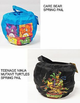 Care Bear~Ninja Turtles Halloween Party Spring Trick-Or-Treat Pail  by Disguise