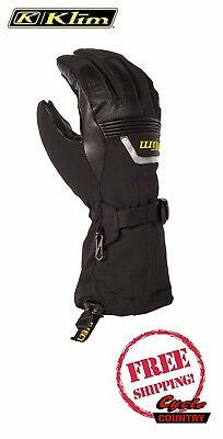 Klim 2017 Fusion Glove Gore-Tex Waterproof Leather Snow Snowmobile 2 In 1 Fit