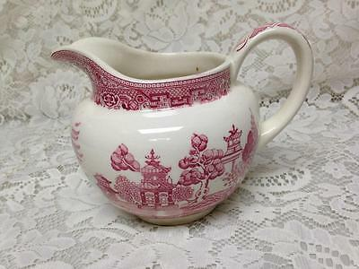 Vintage, Rare,  Red Willow Pitcher, 24 oz 5in x 7in Pitcher