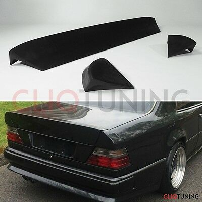 MERCEDES BENZ W124 COUPE AMG STYLE 3 PIECE SPOILER (bootlip wing hecklape mb 2d)