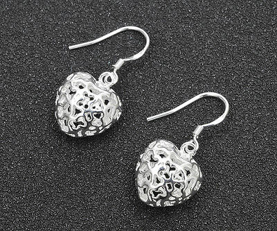 Wholesale 925 Silver Plated fashion jewelry solid silver women earring gift #1