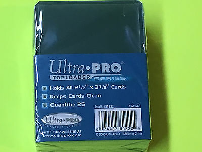 25 ULTRA PRO 3x4 Hard Plastic STANDAD toploaders BASEBALL NFL POKEMON MAGIC NBA
