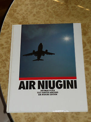 Air Niugini Vintage 80s 1st Edition PNG Airline Book ~ Papua New Guinea History