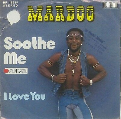 Marboo  soothe me