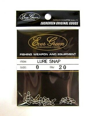 Evergreen Lure Snap Size 1 (Small) (5977)