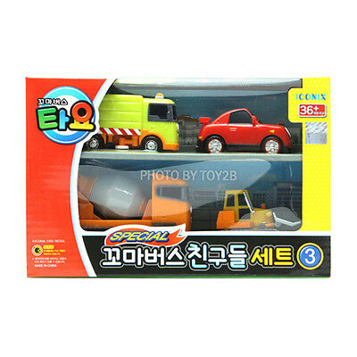 Tayo The Little Bus Friends Special Ruby Billy Speedy Chris Mini 4pcs Set Toy