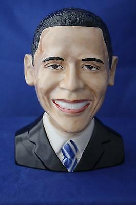 """Peggy Davies """"yes We Can"""" Barack Obama Character Bust New / Boxed"""