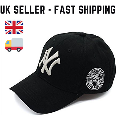 All Colours New York 6 panel Curved Peak Yankee Style NY Baseball Caps