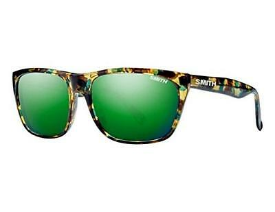 Smith Optics Adult Tioga Archive Carbonic Sunglasses Flecked Green Tortoise/Gree
