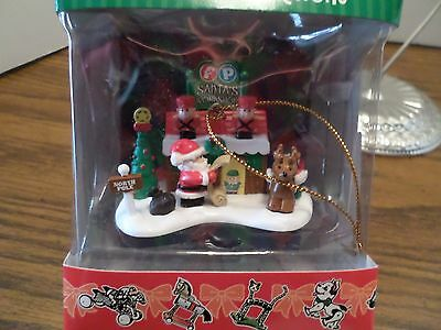 Fisher Price Toys Collectible Ornaments Santa's Workshop # 1378