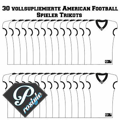 30 American Football Gameshirts