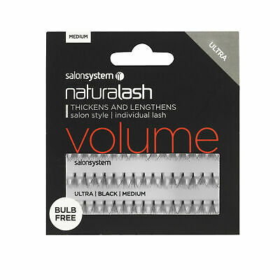 Salon Systems - NATURALASH VOLUME Individual Lashes - Clusters - BULB FREE