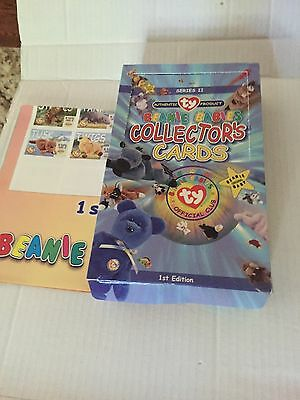 Lot Of 2 Boxes BEANIE BABIES COLLECTOR'S CARDS 1st Edition Series II Ty Base