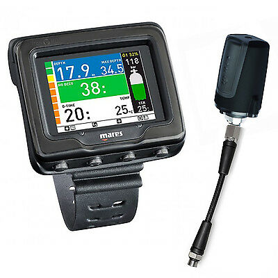 Mares Icon Hd 4.0 Black Edition with Transmitter And HP Hose 02UK