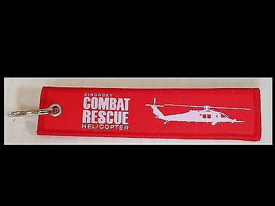 Sikorsky Combat Rescue Helicopter Remove Before Flight Tag Keychain NEW