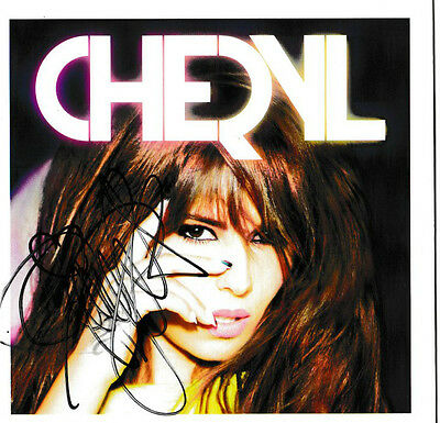 *signed*  Cheryl - A Million Lights Cd Album  (Girls Aloud)  Autographed