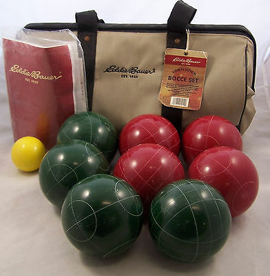 Eddie Bauer Competition Bocce Ball Game Set