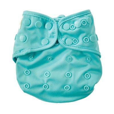 NEW DESIGN Bumkins Snap One-Size Cloth Diaper Cover - Solid Blue