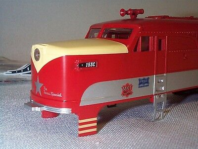 Lionel American Flyer 6-48164 48164 Texas Special 153C PA Dummy A-Unit Shell NOS
