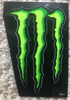 """Monster Energy Drink Decal Sticker Factory New 4 1/2"""" X 3"""""""