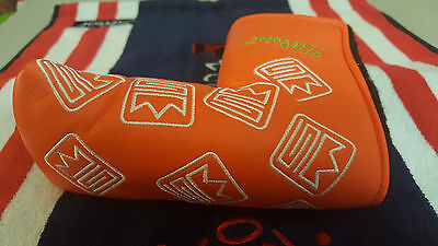 Rare Scotty Cameron Dancing Crowns Headcover 1/500 Putter Cover Headcover-Orange