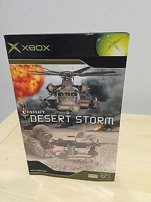 Conflict Desert Storm (XBOX Manual Only) FREE POSTAGE