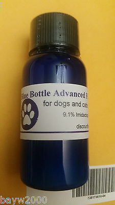 Blue Bottle Advanced Flea Control cats & dogs 20 pounds or less 12 doses 10ml