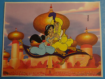 Hand Painted Handpainted Aladdin Jasmine Animation Cel Cell Art