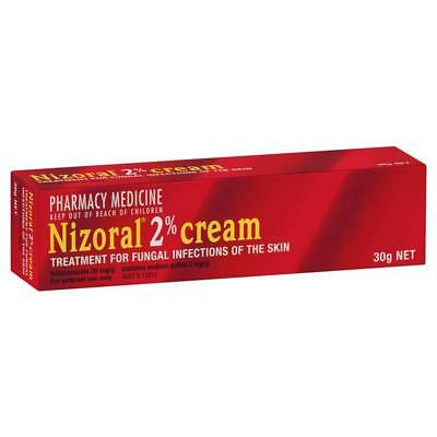 * Nizoral 2% Cream 30G Treatment For Fungal Infections Of The Skin