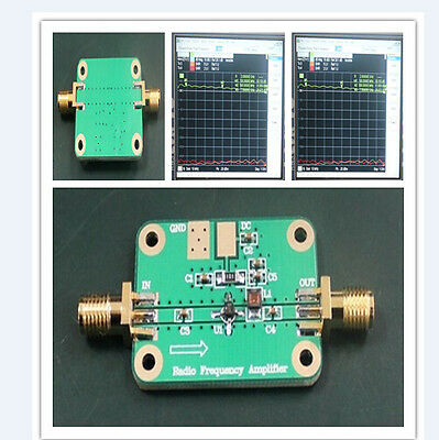 32dB 2Ghz 1-2000MHz Low Noise LNA RF Broadband Amplifier Module HF VHF UHF 6-12V