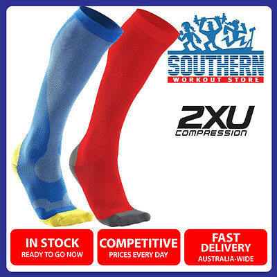 2XU MEN COMPRESSION PERFORM RUN SOCKS (MA2442e) XL SIZE SPORT FITNESS RECOVERY