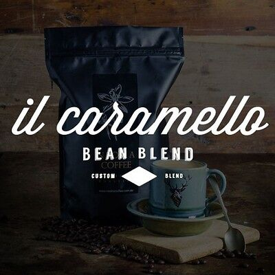 NEW Fresh Roasted Coffee 1kg Caramello Blend