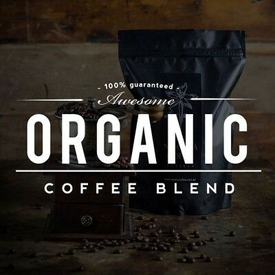 NEW Fresh Roasted Coffee 500g Organic Blend