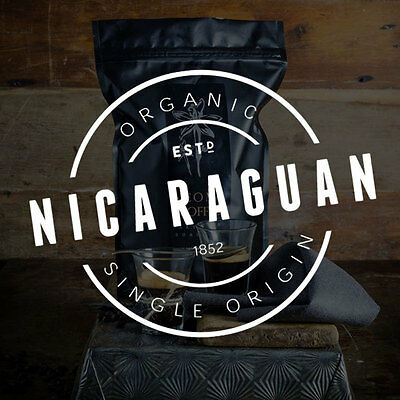NEW Fresh Roasted Coffee 1kg Nicaraguan Single Origin Organic