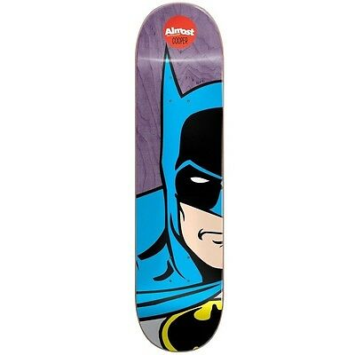 "Almost Cooper Superhero Split Face 8.0"" Skateboard Deck Free Postage"