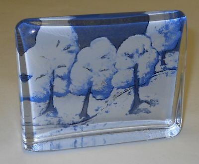 Iittala Silence Of The Snow Glass Card Heljä Liukko Sunström Arabia Finland
