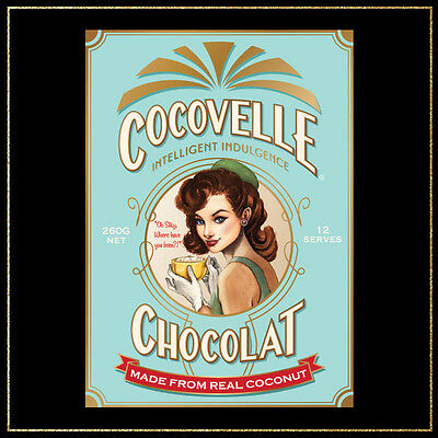 NEW Cocovelle Chocolat Chocolate Powder made from 40% Coconut