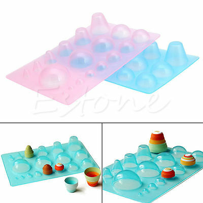 Paper Quilling 3D Half Ball Domes DIY Papercraft Board Quilled Mould Tool