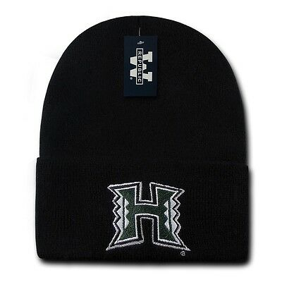 The Trainer Beanies, University of Hawaii, Black