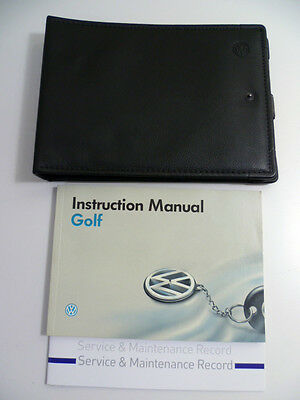 VW Volkswagen Golf Owners Manual Handbook & Service Book Pack 1992 to 1998