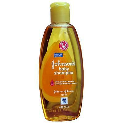 Johnsons Baby Shampoo - Handy 100Ml Travel Pack - Hypoallergenic - Free P&P!!!