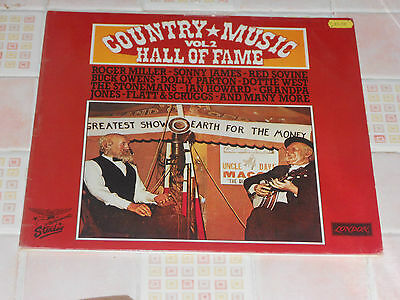 Country Music Hall Of Fame Vol 2 Very Good (Vinyl Dble Album)
