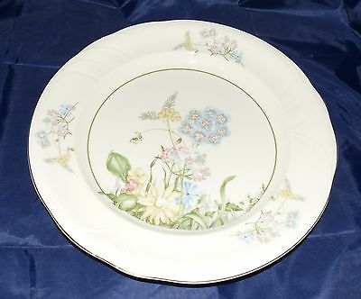 Royal Vale Plate with Flower Design - 10.5 inches