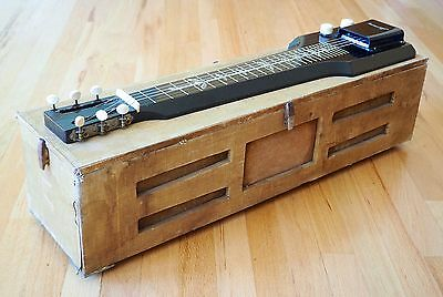 1954 Harmony Hawaiian Consolectric Lap Steel H20 w/ Built in Tube Amp & Legs!
