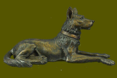Bronze Dog Statue by Mogniez French Animilar Artesian Sculpture Hand Made Figure
