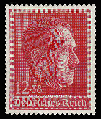 EBS Germany 1938 Hitler's 49th Birthday Mint Hinged Michel 664*